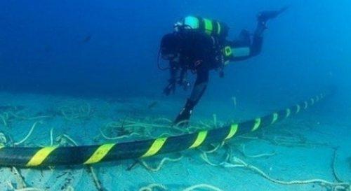 کابل فیبر نوری دریایی