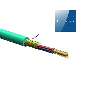کابل فیبر نوری 8 کر EDGE - OM3 کورنینگ