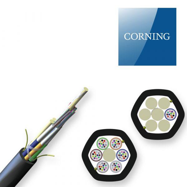 کابل فیبر نوری میکروداکت - 24 کر CORNING